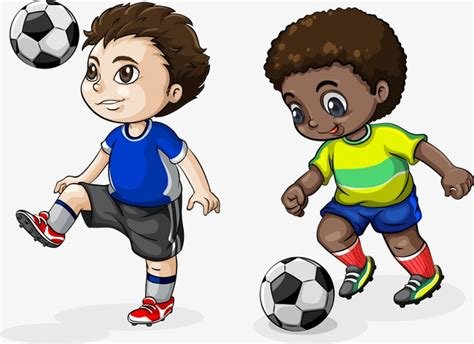 imagenes de niños jugando micro children playing soccer children play football play png