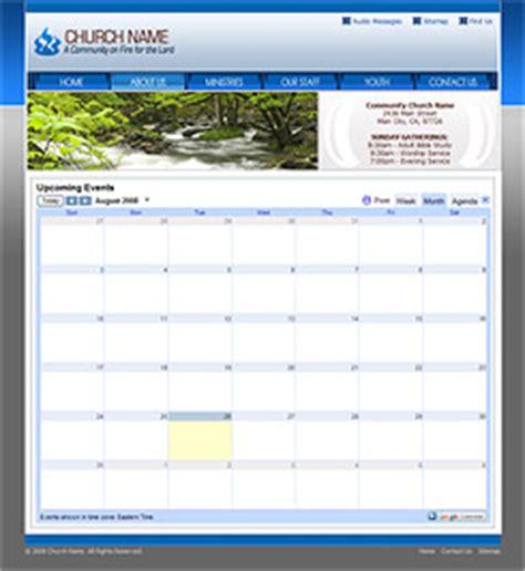 Church Website Template Church Template 207 Modern Church Template Church Calendar Template