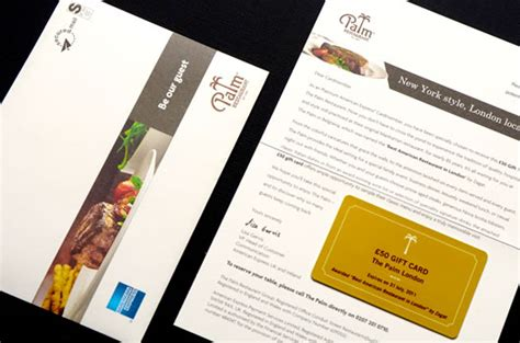 Graphic Design Works From Home palm restaurant london marketing creative printing