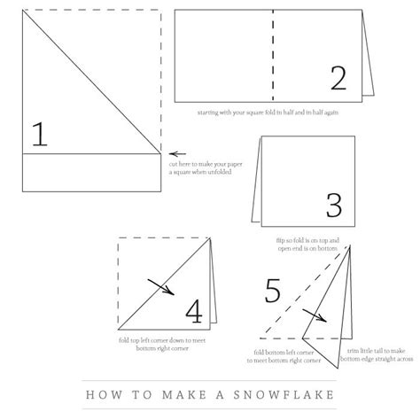 How To Fold Paper To Make A Snowflake - paper snowflake happy holidays