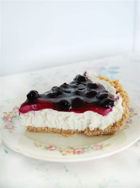 no bake blueberry cheesecake pie 187 the merrythought