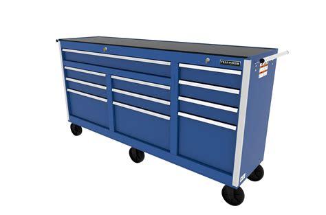 craftsman tool box drawer slides craftsman 73 quot 11 drawer ball bearing slides cabinet blue