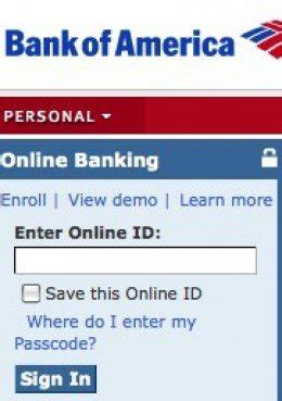 bank of america login in bank of america banking sign in