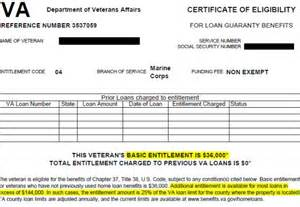 va loan certificate of eligibility arizona va loansva