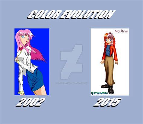 color evolution color evolution by kiske otoko on deviantart