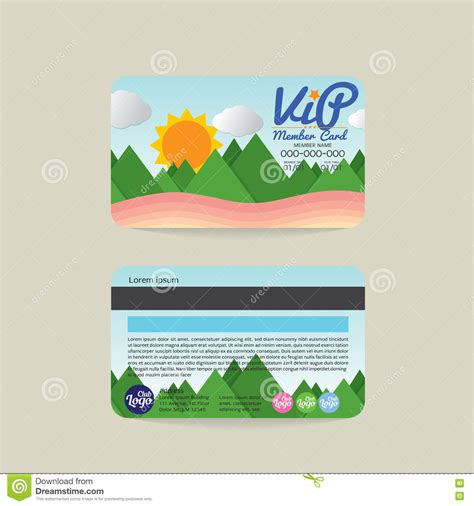 vip member card template vip card template royalty free cartoondealer