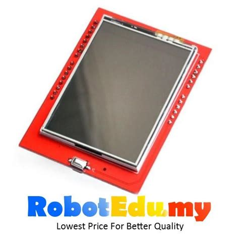 Lcd Display Tft Touch Screen 2 4 Inch For Arduino Uno Ai22 arduino 2 4 inch tft spfd 5408 touc end 4 18 2019 4 15 pm