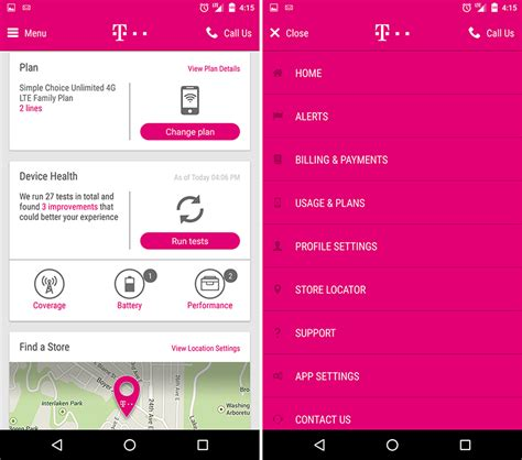 new app mobile new t mobile android app leaks with fresh design in tow