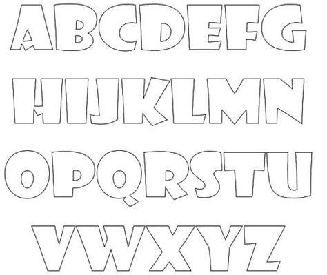 letras gruesas para carteles moldes de letra para carteleras y dem 225 s p 225 gina web de