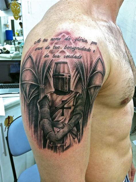 tattoo derm pin tatuagem cavaleiro templrio arte hawaii