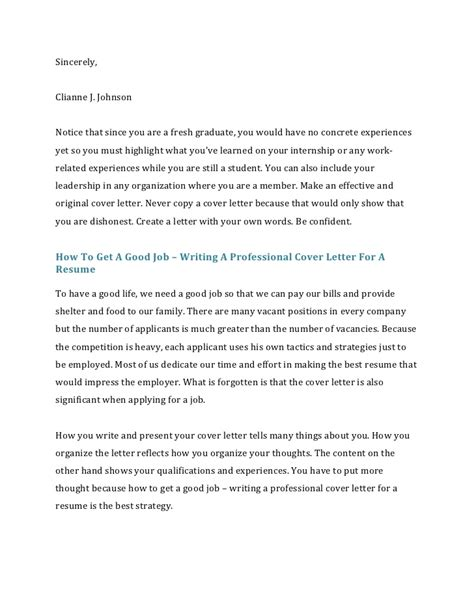 cover letter sincerely or faithfully how to write a cover letter for a resume