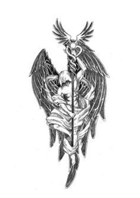 angel tattoo nice nord erzengel raphael and erzengel on pinterest