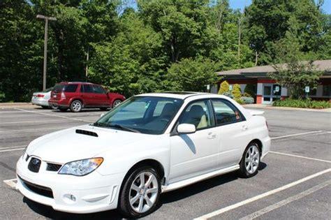2007 subaru impreza wrx sti limited for sale sell used 2007 subaru impreza wrx sti limited sedan 4 door