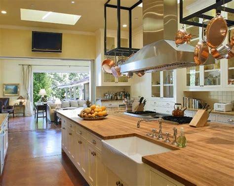 layout of butchery kitchen butcher block kitchen countertops eatwell101