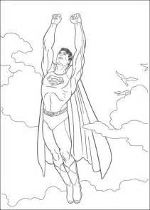 dibujos superman colorear pintar imprimir gratis
