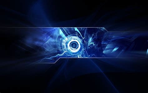 wallpaper abstract technology blue wallpaper and background image 1900x1200 id 66956