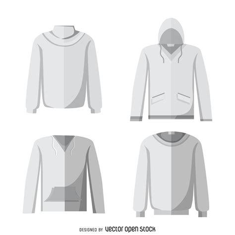hoodie design mockup blank hoodie mockup set vector download