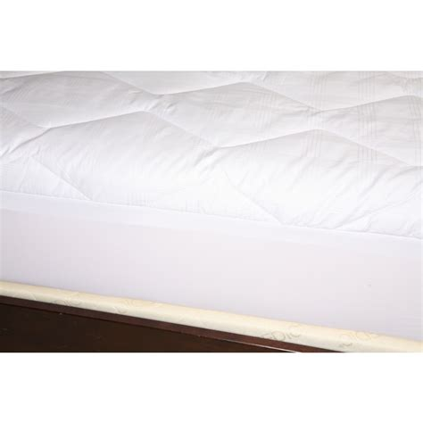 home design california king mattress pad 370 thread count mercerized cotton mattress pad