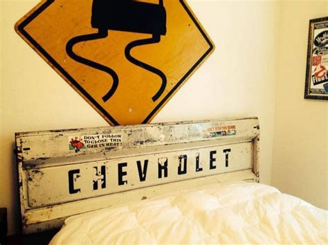 license plate headboard best 25 tailgate headboard ideas on pinterest license
