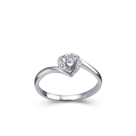 1 4 carat shape promise engagement ring