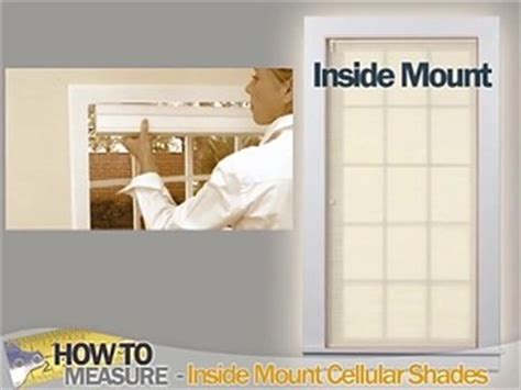 how to measure for shades outside mount how to measure for inside mount cellular shades blinds