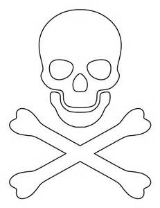 pirate hat template to print printable crossbones template