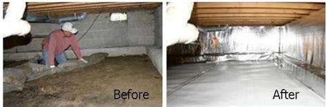 Crawlspace Vapor Barrier Installer Cincinnati and Dayton