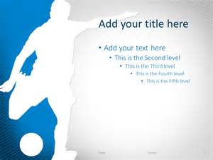 powerpoint templates soccer soccer powerpoint template blue presentationgo