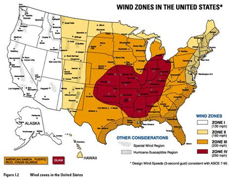 texas wind zone map wind zone map
