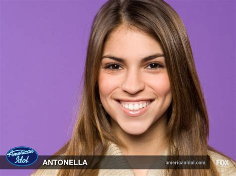 American Idols Antonella Barba Grows by 1st Name All On Named Antonella Songs Books