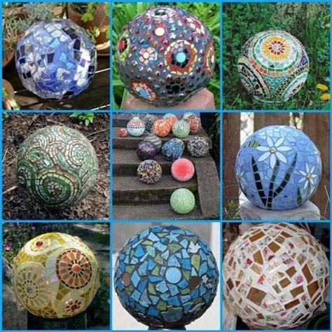 Garten Deko Mosaik by Bowling Kugel Garten Deko 20 Ideen Mosaik Glas Mosaik