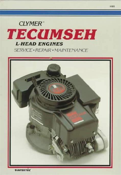 tecumseh  head engine owners service repair manual