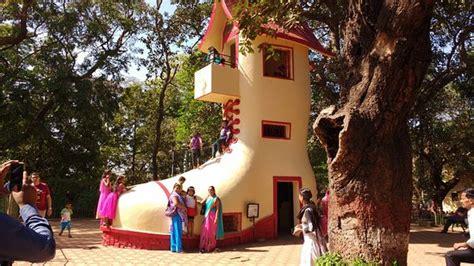 the shoe house the shoe house picture of kamala nehru park mumbai tripadvisor