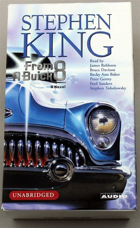 from a buick 8 a novel books from a buick 8 by stephen king 10 cassette audiobook