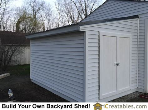 lean  shed attached  garage icreatablescom