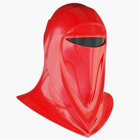 star wars emperors royal guard helmet cgtrader