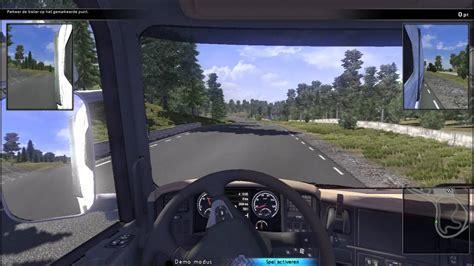 scania truck driving simulator demo gameplay