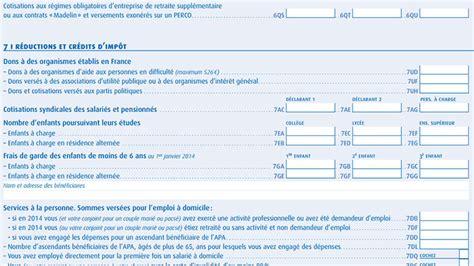 Formulaire Credit Impot Dons Aux Partis Politiques Attention Aux Cases De La D 233 Claration
