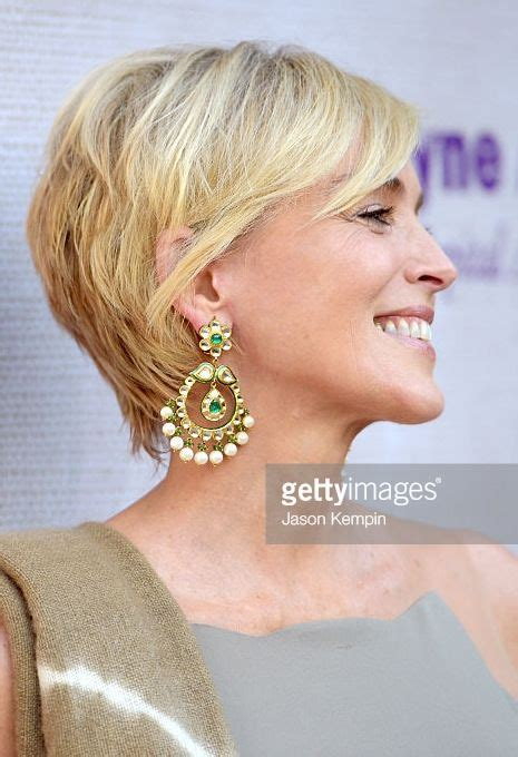 pics of sharon stones hair cut only print out front and back les 25 meilleures id 233 es concernant sharon stone hairstyles