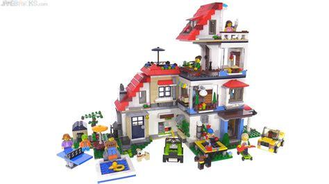 lego creator modular house build 31067 31068