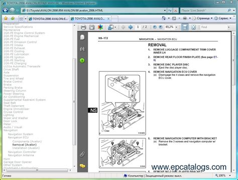 free online auto service manuals 2006 toyota avalon free book repair manuals toyota avalon