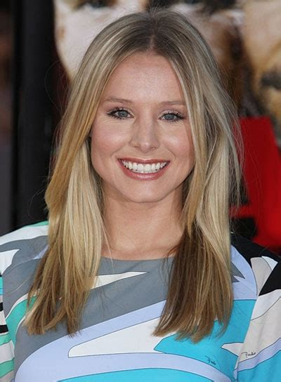 kristen bell medium straight cut edgy chic kristen bell medium edgy hairstyles beauty riot