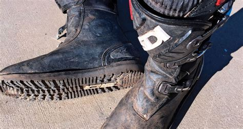 dirt bike trail boots dirt bike magazine sidi trail zero boots