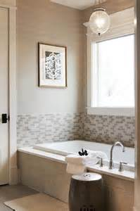 tile around bathtub surround half tiled tub surround design ideas