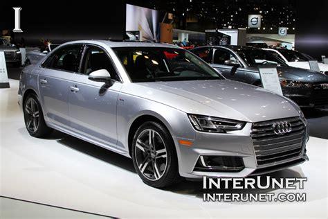 audi a4 s line horsepower 2017 audi a4 sedan interunet