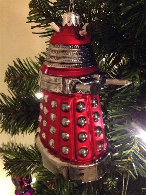 doctor who christmas tree ornaments the world of kitsch