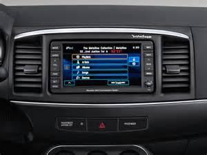 Mitsubishi Lancer Radio 2012 Mitsubishi Lancer Sportback Radio Interior Photo
