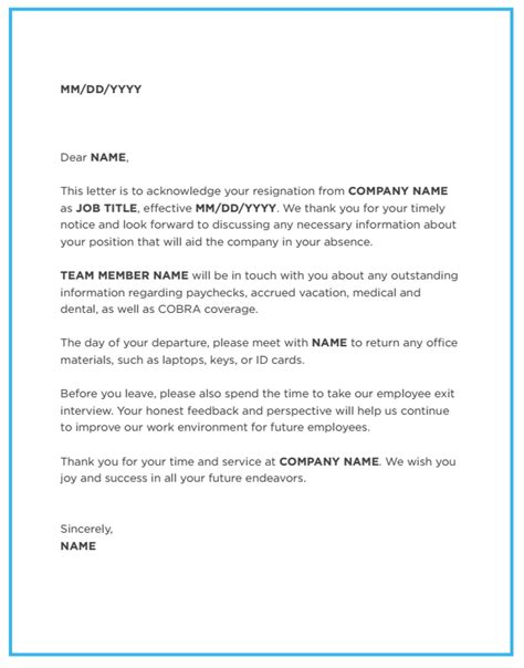 Resignation Acceptance Letter To Hr Employers Take The Right Steps With This Resignation Acceptance Letter Justworks