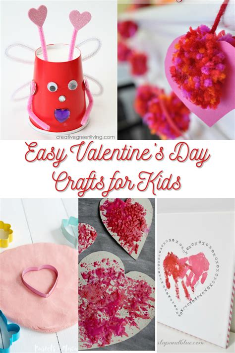 easy valentines crafts for easy s day crafts for