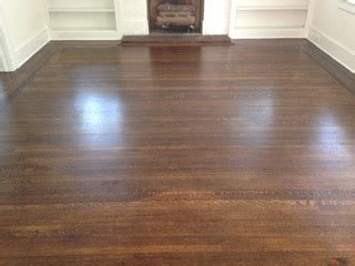 Refinishing Fine Old Wood Floors in Historic Riverside